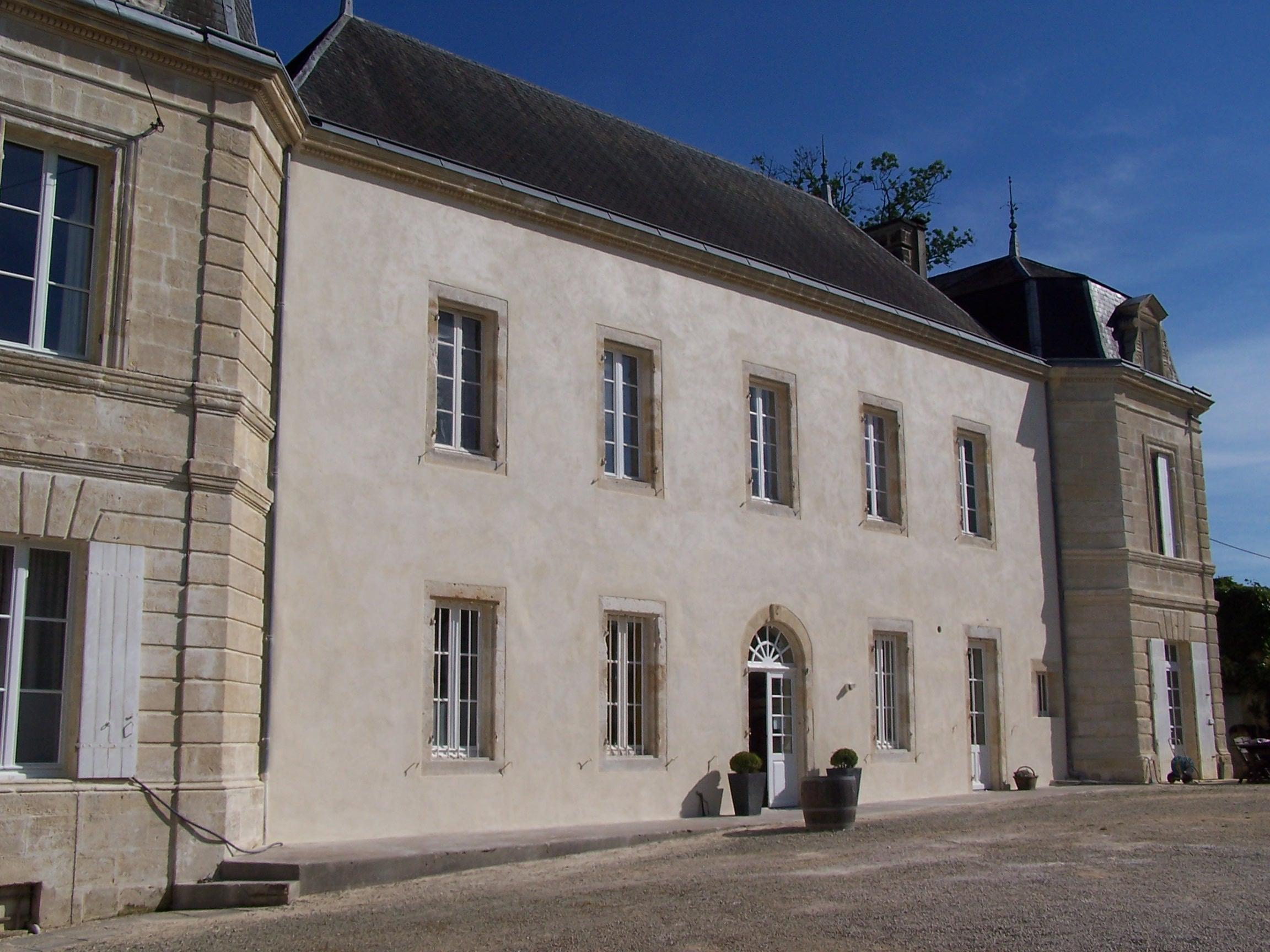Renovation chateau extérieure Lespinasse Bâtiment